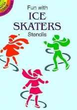 Noble, Marty Fun with Ice Skaters Stencils