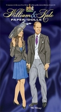 Tom Tierney William and Kate Paper Dolls
