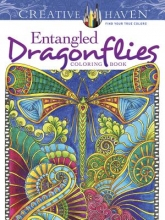 Angela Porter Creative Haven Entangled Dragonflies Coloring Book