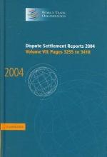 World Trade Organization Dispute Settlement Reports
