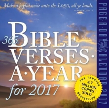 Workman Publishing 365 Bible Verses-A-Year for 2017