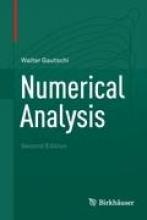 Walter Gautschi Numerical Analysis