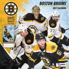 Cal 2017 Boston Bruins 2017 12x12 Team Wall Calendar