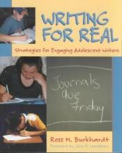 Ross M. Burkhardt Writing for Real