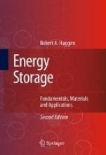 Huggins, Robert A. Energy Storage
