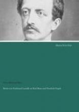 Briefe von Ferdinand Lassalle an Karl Marx und Friedrich Engels