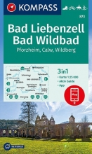 , Bad Liebenzell, Bad Wildbad 1:25 000