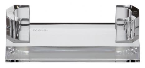 , Visitekaarthouder MAUL 110x44x32mm acryl