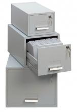 , Kaartenbak Durable metaal 284x225x420mm lichtgrijs