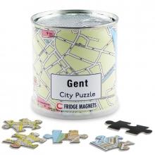 , Gent city puzzel magnetisch