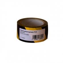 , Vloermarkeringstape Budget zwart/geel 50mmx33m