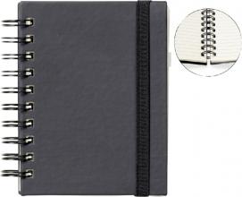 , Notitieboek Quantore A6 spiraal zwart