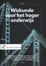 Jan Walter Sieb Kemme  Wim Groen  Theo van Pelt  Jacques Timmers  Gooitzen Zwanenburg  Caroline Koolen, Wiskunde voor het hoger onderwijs deel A