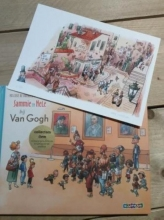Nelleke de Boorder Sammie en Nele bij Van Gogh. Engels Artist edition
