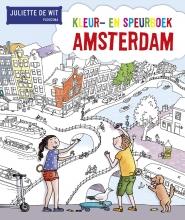 Juliette de Wit Kleur- en speurboek Amsterdam geseald 5 exemplaren