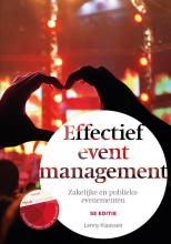 Lenny Klaassen , Effectief eventmanagement, 5e editie met MyLab NL toegangscode
