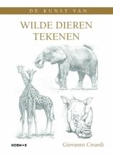 Giovanni Civardi , Wilde dieren tekenen
