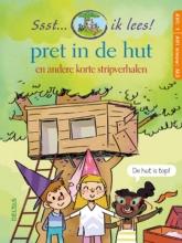 Carine  Aerts Ssst... ik lees! Pret in de hut - korte stripverhalen AVI nieuw M3