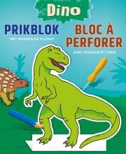 , Dino prikblok Dino bloc à perforer