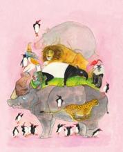 Marije  Tolman Springende pinguns en lachende hyena`s