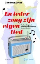 Ton den Boon , , En ieder zong zijn eigen lied