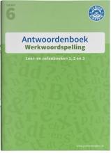 , Werkwoordspelling antwoorden Leer- en oefenboeken 1, 2 en 3 groep 6