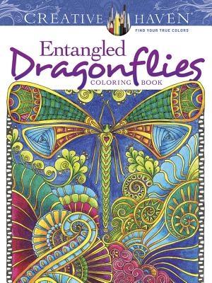 Angela Porter,Creative Haven Entangled Dragonflies Coloring Book