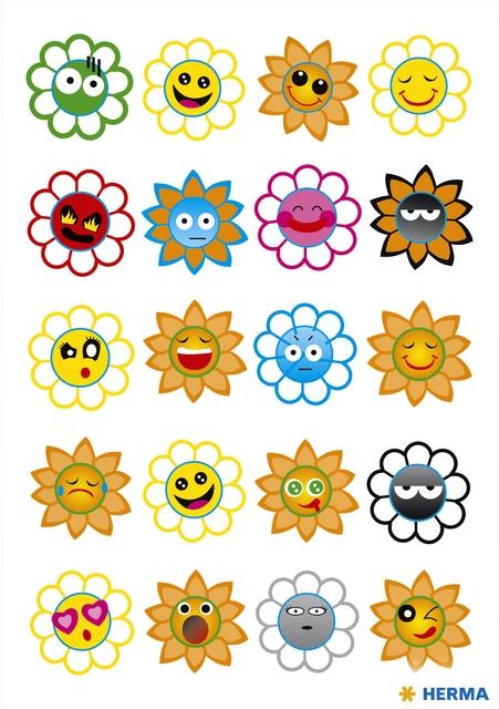 ,Etiket Herma crazy zonnen puffy