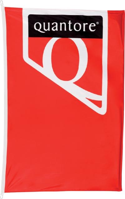 ,Vlag huismerkvlag Quantore 100x150cm