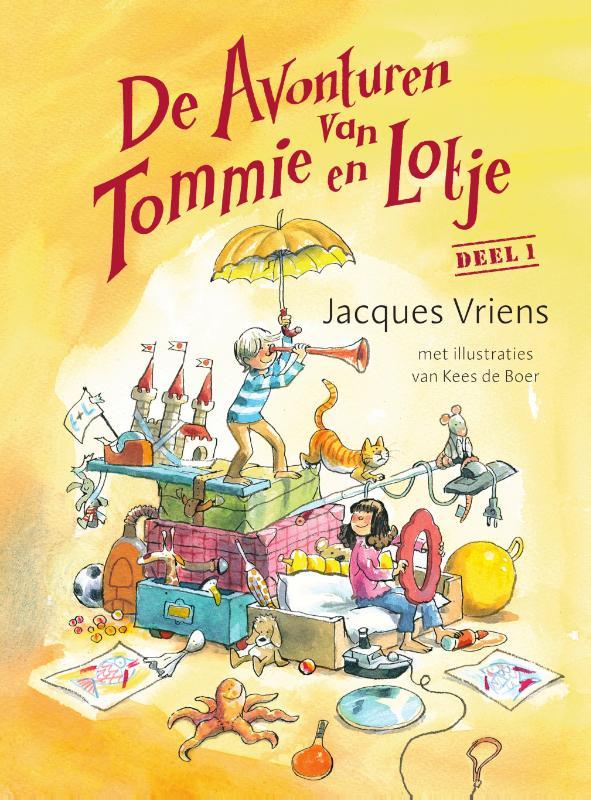 Jacques Vriens,De avonturen van Tommie en Lotje deel 1