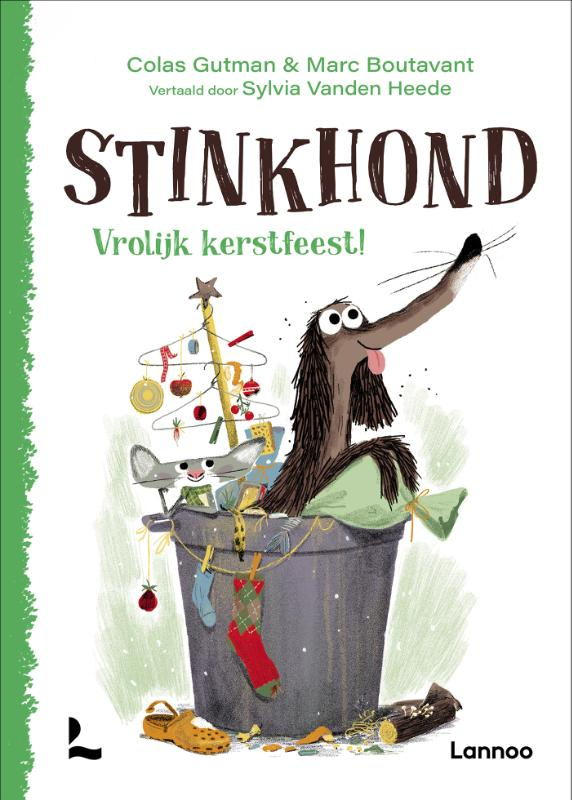 Colas Gutman,Stinkhond - Vrolijk Kerstfeest!