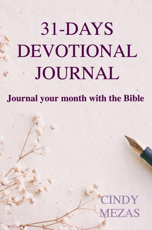 Cindy Mezas,31-days devotional journal