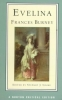 Burney, Frances,Evelina, Or, the History of a Young Lady`s Entrance Into the World