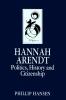 Hansen, Phillip,Hannah Arendt