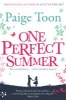 Toon, Paige,One Perfect Summer