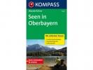 Seen in Oberbayern,Wanderführer mit Tourenkarten und Höhenprofilen