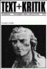 ,Text + Kritik Sonderband IV/05. Friedrich Schiller