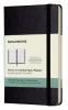 ,Moleskine 12 month planner - weekly - horizontal - pocket - black - hard cover