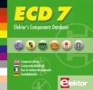 CD-ROM ECD 7,elektor`s components database