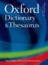 Oxford Oxford Dictionary and Thesaurus