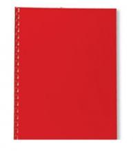 , Voorblad GBC A4 Polycover 300micron donkerrood 100stuks