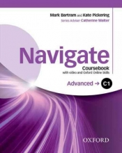 Navigate: C1 Advanced: Coursebook with DVD and Oxford Online Skills Program