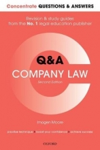 Moore, Imogen Concentrate Q&A Company Law