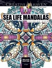 Jo Taylor Creative Haven Deluxe Edition Sea Life Mandalas Coloring Book