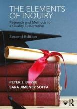 Peter J. Burke,   Sara Jimenez Soffa The Elements of Inquiry