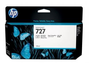 , Inktcartridge HP B3P23A 727 130ml foto zwart