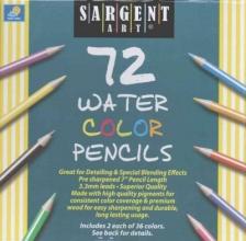 Pencil/72 Ct. Water Color