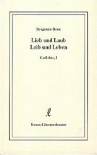 Bonn, Benjamin Lieb und Laub, Leib und Leben