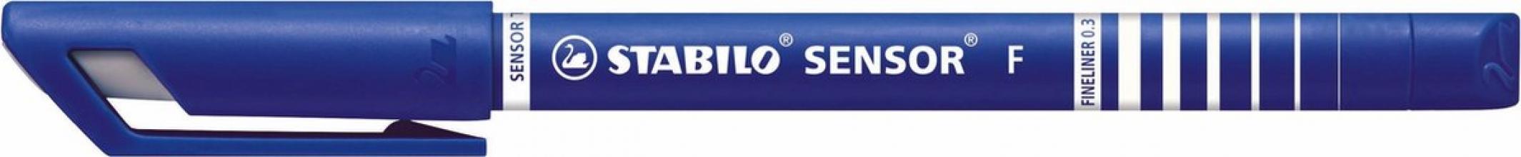 , Fineliner stabilo sensor 189/41 blauw