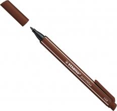 488 , 45 , Stabilo pointmax viltstift bruin